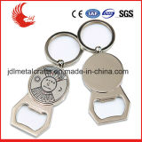 Le placage nickel en alliage de zinc Key Ring Calendrier décapsuleur