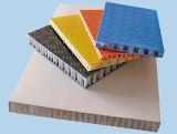 Pre madera pintado de aluminio Bobinas de paneles de aluminio de nido de abeja