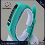 Спорт цифров вахты шагомер вахты силикона Wristwatch подарка рождества (DC-JBX051)