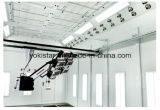 Lampe infrarouge suspendue de longeron dans la cabine de peinture de jet