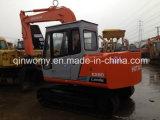 excavatrice Hitachi Ex60 de chenille hydraulique utilisée par Japon de 0.1~0.5cbm/7000kg 40FT-Container-Shipping mini