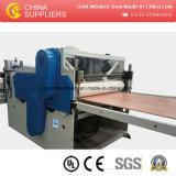 Production/extrusion/fabrication de panneau de mousse de croûte de PVC/fabrication/machine/ligne