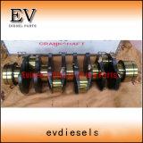4HK1tc 4he1tc 4he1t 4HK1t 4HK1 4HE1 del anillo del pistón camisa del cilindro Kit para las piezas del motor Isuzu