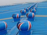 Sans toit de l'alimentation du ventilateur extracteur ventilateur turbine entraînée par le vent