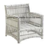 Conjunto de café de jardim de lazer ao ar livre confortável por alumínio com PE-Rattan (YT622)