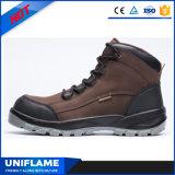 Chaussures de sécurité en cuir de daim en cuir suédé Ufb027