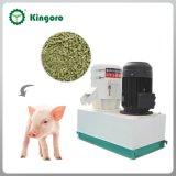 편평한 작은 중간 농장 사용은 동물 먹이 펠릿 기계를 정지한다