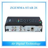 Zgemma-Star 2s Satellite Receiver HD DVB S DVB S2 Twin Tuner Satellite Decoder IPTV를 가진 Dish 없음 FTA