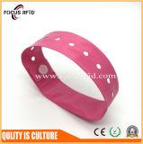 Тип Hf ISO14443 Wristband RFID устранимый для дела