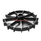Kundenspezifisches schwarzes Hochleistungs--Nylonplastikrad-Naben-Distanzstück für Automobil