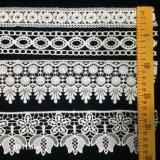 Confección de prendas de vestir Crema Marfil tejido de algodón negro de encaje de Cinta de tejido de ganchillo hechos a mano artesanía Accesorios