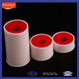 Adhesive stabile Zinc Oxide Medical Tape con Plastic Cover