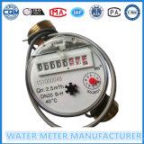 Medidor de água de pulso de plástico simples de jato Nylon