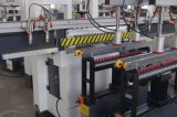Vuelco de giro vertical// el volumen de negocios de madera tipo aburrido y la máquina de perforación