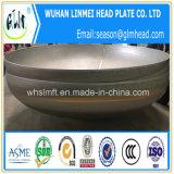 De gran tamaño en acero inoxidable 316L 2: 1 tapa del cabezal semi elipsoidal