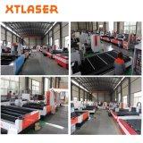 Cortadora del laser de la fibra del acero inoxidable del CNC/del metal de hoja