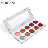 ¡en existencias! Veronni 10 colorea la gama de colores mate del sombreador de ojos del sombreador de ojos +Glitter de la gama de colores del sombreador de ojos