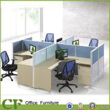 Perfil de alumínio mobiliário em madeira Office Partição de estação de trabalho