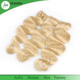 Capelli poco costosi di consegna del grado veloce della parte superiore che tessono capelli umani brasiliani