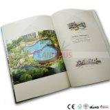 Impression de luxe polychrome de livret explicatif de brochure de catalogue