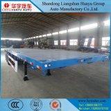 30/35/40/45 Tonnen-Kapazitäts-Flachbett-halb Schlussteil für Ladung-/Behälter-Transport