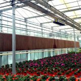 Almofada de resfriamento evaporativo agrícolas para o sistema de refrigeração de ar em estufa