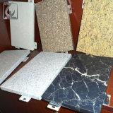 Perfil de aluminio de grano de madera para la construcción de Material (BA-010)