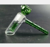 Grüner Hammer-Wasser-Rohr-Filter-Bambushandglas-Rohr