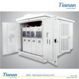 Caixa de derivação de cabo, subestação pré-fabricada, subestação combinada, subestação de pacote de transformadores