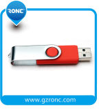Горячая ручка USB вращения сбываний с логосом напечатала