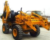 Backhoe van de Band van China Lader met 1m3 de Emmer van de Lading