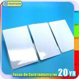 Carte à puce classique blanc d'IDENTIFICATION RF de la puce 1K de PVC MIFARE