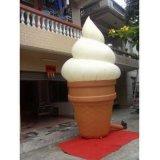 Modello gonfiabile popolare del gelato di vendita calda per la pubblicità