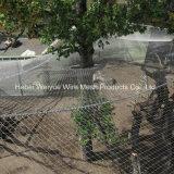 Зоопарк из нержавеющей стали каркас для плат с высоты птичьего полета вольере взаимозачет/Зоопарк зацепление веревки Net