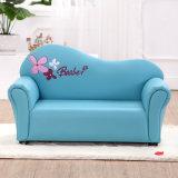 Un sofà di cuoio dei 2 delle sedi bambini del PVC
