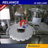 Füllen, mit einer Kappe bedeckende Maschine für wesentliche Öl-Glas/Plastikflaschen zustöpselnd