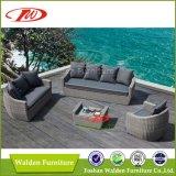 Mobilia esterna del vimine del rattan del sofà popolare del giardino