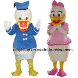 Costume animale della mascotte dell'anatra di Donald