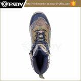 Первый слой ботинка Esdy тактический напольный кожи