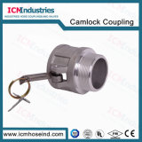 """고품질 알루미늄 2 """" npt에 의하여 스레드되는 Camlock 관개 이음쇠"""