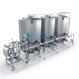 Sistema di lavaggio di pulizia di CIP di controllo del sistema /Manual di CIP di controllo manuale/serbatoio acciaio inossidabile
