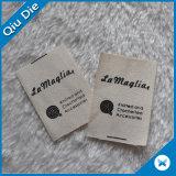 escrituras de la etiqueta de cuidado de la mancha de óxido de 100%Cotton que se lavan Demash