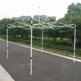 3X3m White Outdoor Steel Pop up Tent Gazebo pliable