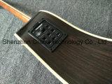 Haut de l'épinette solide corps AAA de la guitare acoustique Fishman camionnettes (D45)