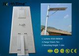 Réverbère solaire économiseur d'énergie sec Integrated de l'éclat superbe DEL