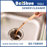 9.6 Zoll-Plastikabfluss-Reinigungsmittel-Schlange-Haar-Klotz-Remover