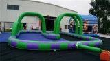 Trilha inflável louca popular do carro de corridas 2016 para a venda