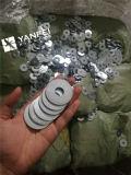 Электрическая гальванизированная круглая плоская шайба DIN125