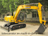 Escavatori idraulici del nuovo piccolo cingolo giallo della Cina con Grasper