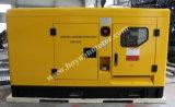 Tipo silencioso trifásico central eléctrica de 4 alambres diesel